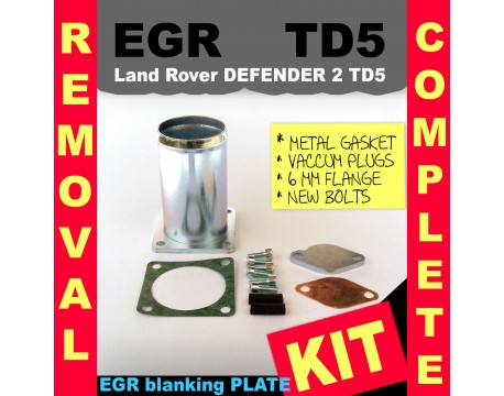 Land Rover Discovery 2 TD5 EGR Removal Complete Kit