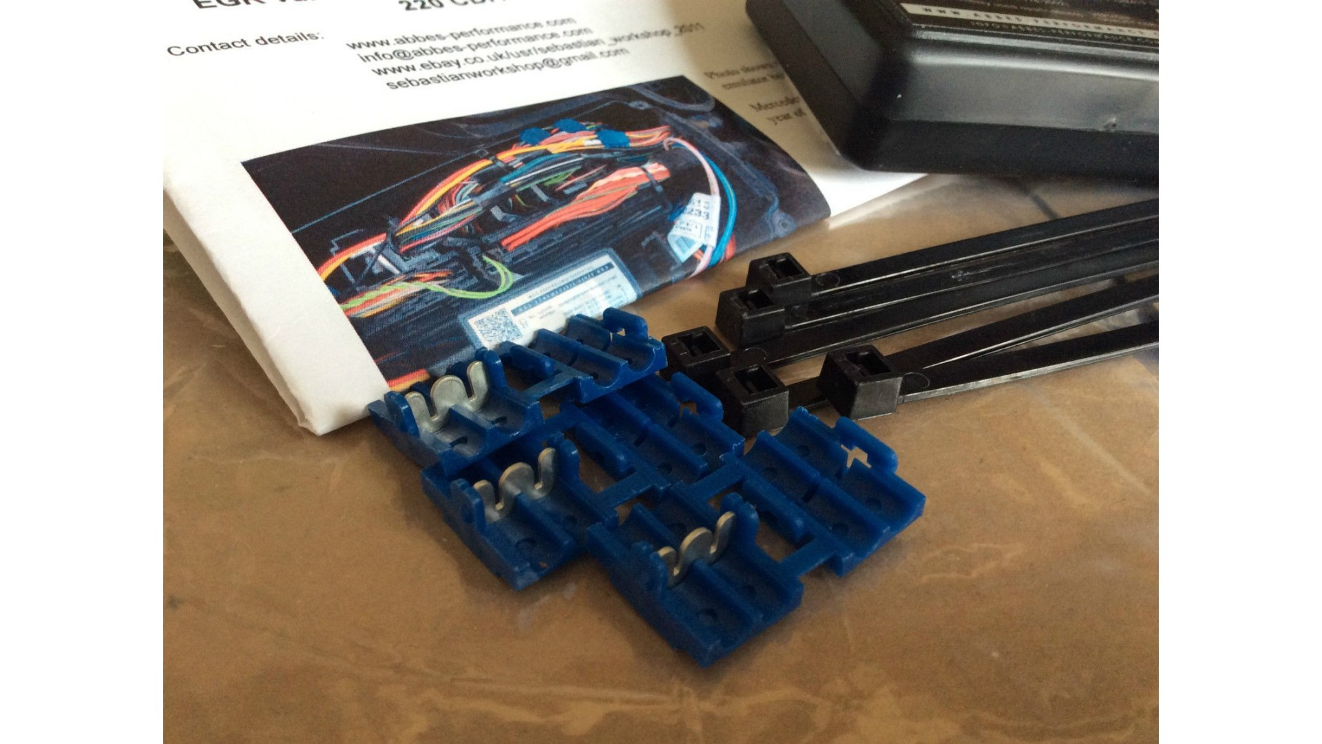 EGR valve emulator BOX Mercedes C / E / S / ML / 220 CDI / 270CDI