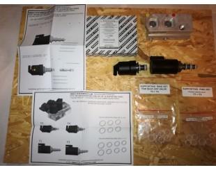 Mercedes-Benz ABC valve block  PTFE TEFLON SUPPORTING SQUARE CUT RING SET