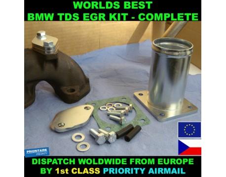 BMW TDS TD EGR REMOVAL KIT COMPELTE E34 E36 E39 E38 318 325 525 725