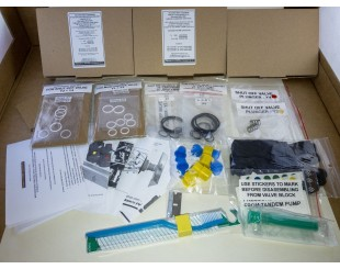 Mercedes-Benz compatible SEALS O-ring rebuild kit for ABC hydraulic suspension valve block W220 C215 R230