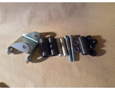 PG1 GEAR LINKAGE BUSH KIT +NEW STEEL BRACKET  MG ROVER ZR ZS 120 160 180